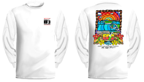 Vans presents the Coastal Edge East Coast Surfing Championship 57th Annual 2019 L/S T-Shirt White