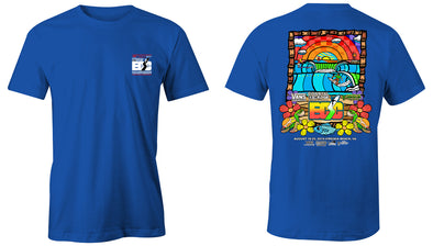 Coastal Edge East Coast Surfing Championship 2019 S/S T-Shirt Royal