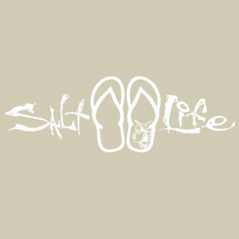 Salt Life Signature Sandals Sticker