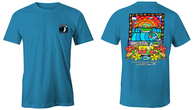 Coastal Edge East Coast Surfing Championship 2019 S/S T-Shirt Sapphire