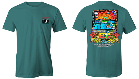 Vans presents the Coastal Edge East Coast Surfing Championship 57th Annual 2019 S/S T-Shirt Island Reef