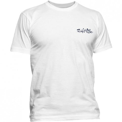 Salt Life Ameriseas Short Sleeve T-Shirt White