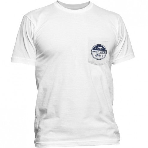 Salt Life Seeing Tuna Short Sleeve T-Shirt White