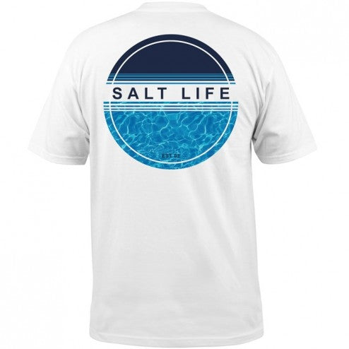 93349382 Salt Life Calm Waters Short Sleeve T-Shirt White – CoastalEdge2120