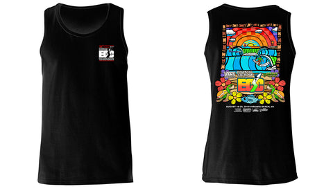 Vans presents the Coastal Edge East Coast Surfing Championship 57th Annual 2019 Tank Top Black
