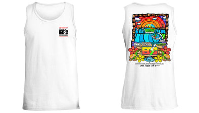 Vans presents the Coastal Edge East Coast Surfing Championship 57th Annual 2019 Tank Top White