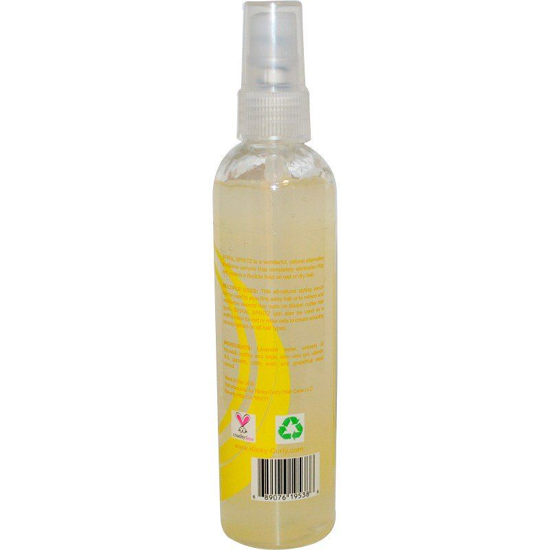 Kinky Curly Spiral Spritz Natural Styling Serum 236 ml