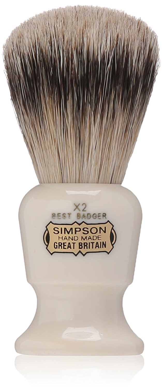 Simpsons Commodore Shaving Brush - X2 Best
