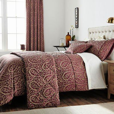 Broomhill Sofia Duvet Cover, Berry, Single
