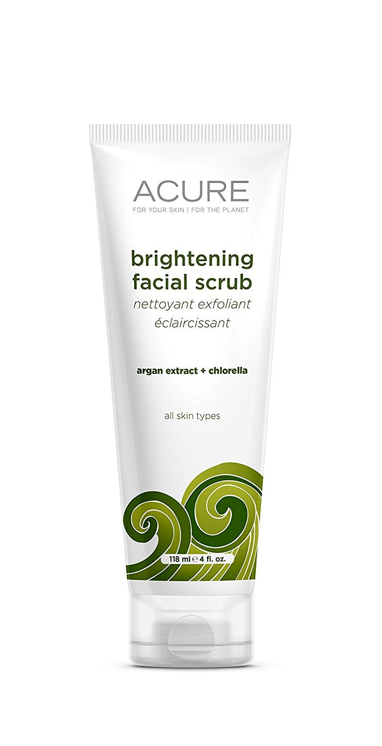 Acure Organics Brightening Facial Scrub 120 ml
