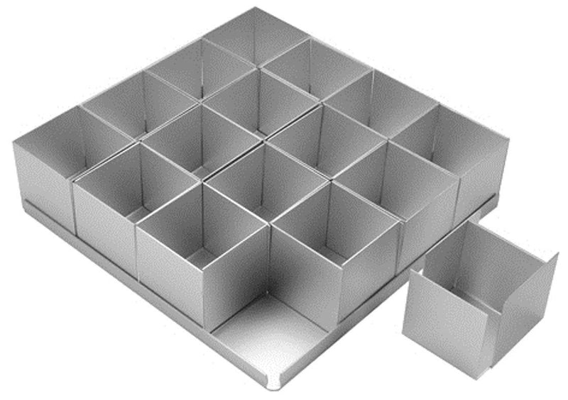 Alan Silverwood 16 Piece 2 Inch Square Multi Mini Set