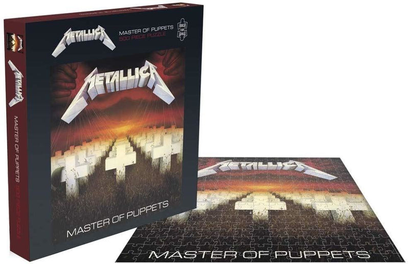 Metallica Master of Puppets 500 Piece Jigsaw Puzzle