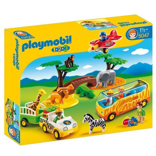 PLAYMOBIL 1.2.3 Large African Safari
