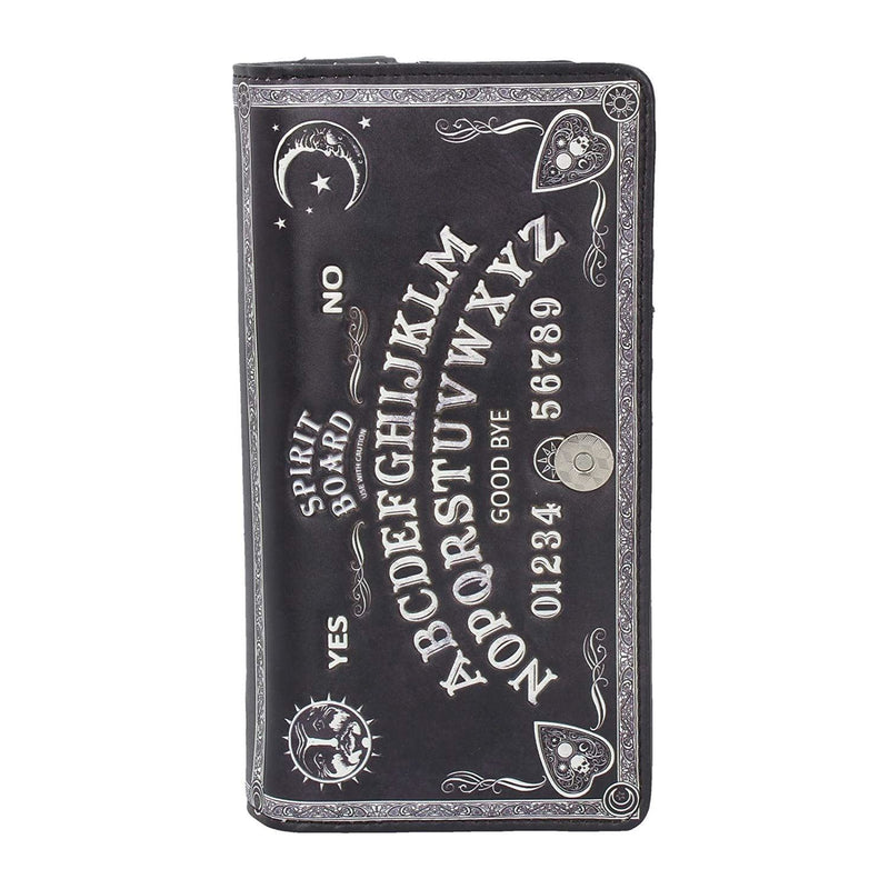 Nemesis Now Spirit Board Embossed Purse Ouija Wallet Black 18.5cm