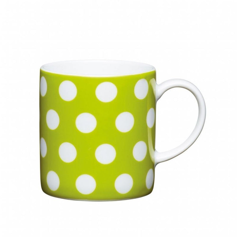Kitchencraft Polka Dot Coffee Mug, Ceramic, Zebra, 23 cm