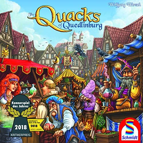 Schmidt Spiele Quacks of Quedlinburg Game Family Multicolour