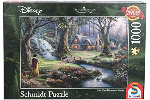 Schmidt Spiele 59485 Thomas Kinkade Disney Snow White Jigsaw Puzzle Multi-Colour
