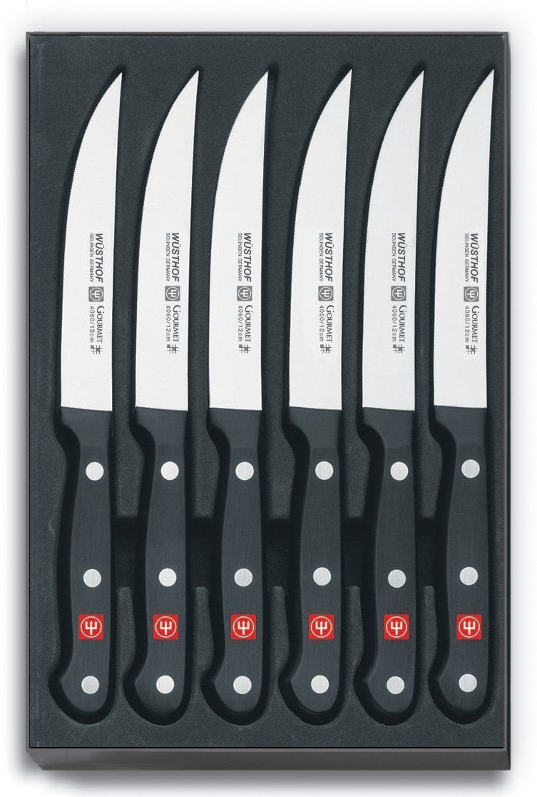 Wusthof 6 Piece Gourmet Steak Knife Set