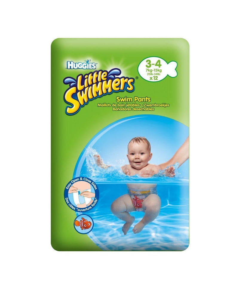 Huggies Little Swimmers Swim Pants Size 3-4 (7-15kg)