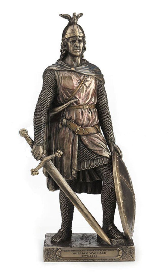 Nemesis Now 11.5' Scottish Knight Sir William Wallace Statue Sculpture Figure Home Decor