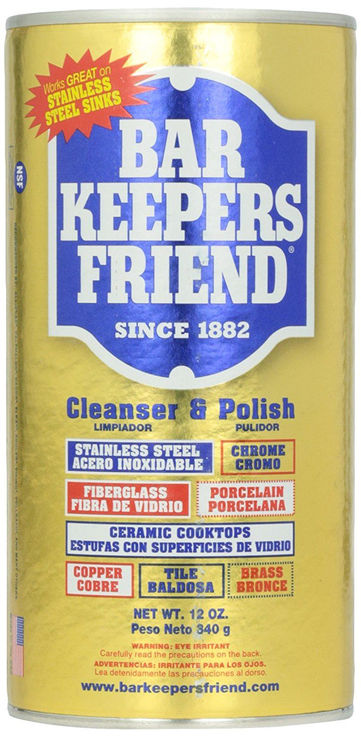 Bar Keepers Friend Cleanser & Polish 340 g