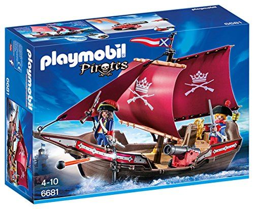PLAYMOBIL 6681 Floating Pirates ' Patrol Boat