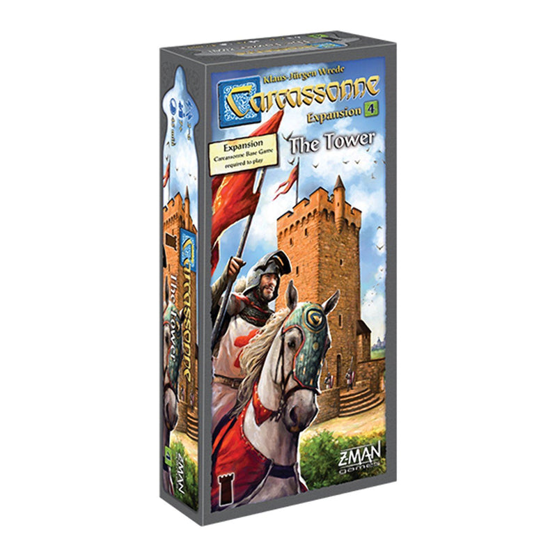 Carcassonne Expansion 4: The Tower Board Game