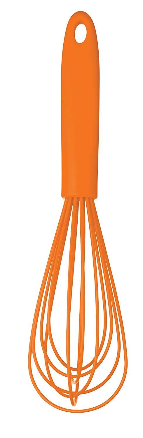 Colourworks Silicone Whisk, Orange