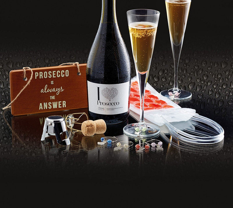 Bar Craft Prosecco Gift Set (9 Pieces)