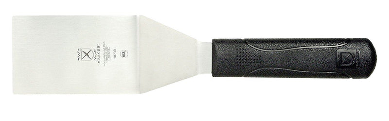 Mercer Culinary Millennia Square Edge Turner, 4 x 2.5-Inch