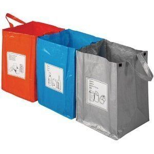 Fallen Fruits Recycling Bags for Tin, Glass and Paper