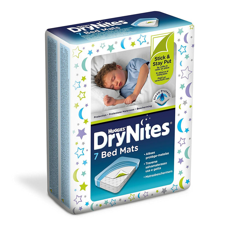 Huggies Dry Nites Bed Mats Pack of 7
