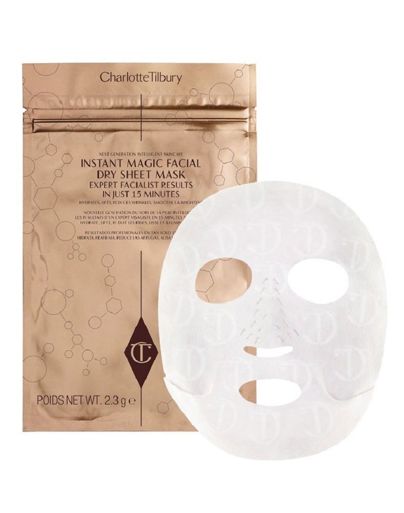 CHARLOTTE TILBURY INSTANT MAGIC FACIAL DRY SHEET MASK SINGLE MASK