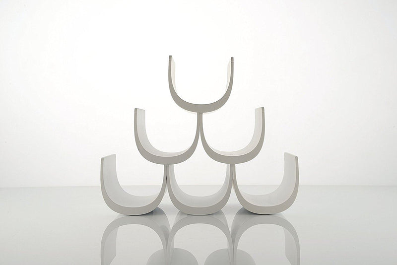"Alessi ""Noe"" Modular Bottle Holder In Thermoplastic Resin, White"
