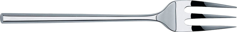 Alessi'MU' Serving Fork in 18/10 Stainless Steel Mirror Polished, Silver