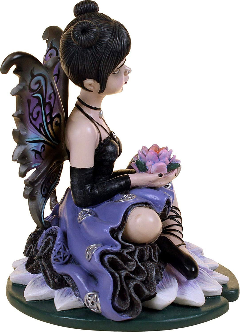 Nemesis Now Luna  Figurine 6cm Purple