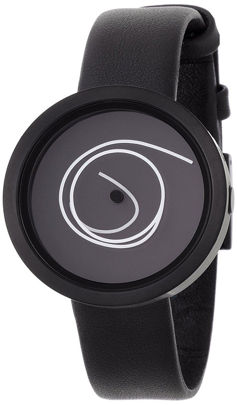 Nava Design Ora Unica 42mm Watch - Black