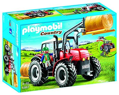 Playmobil Country - Giant Farm Tractor with Special Tools