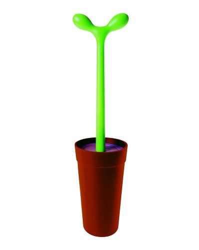Alessi Merdolino Toilet Brush Aleesi ASG04, Brown