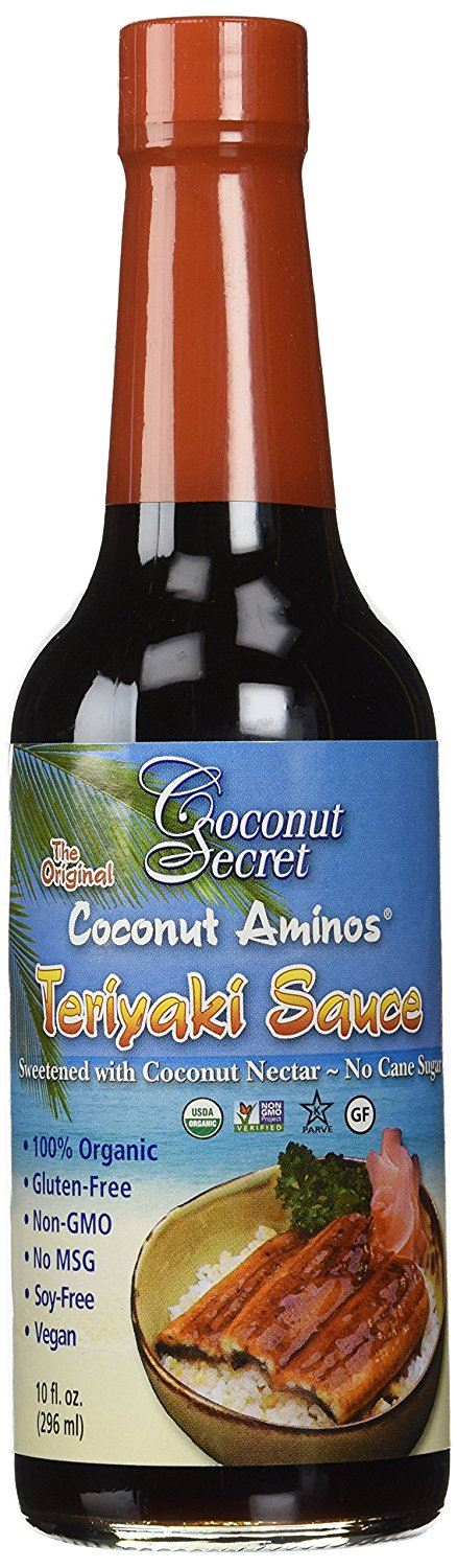 Coconut Secret Raw Coconut Teriyaki Sauce 296 ml