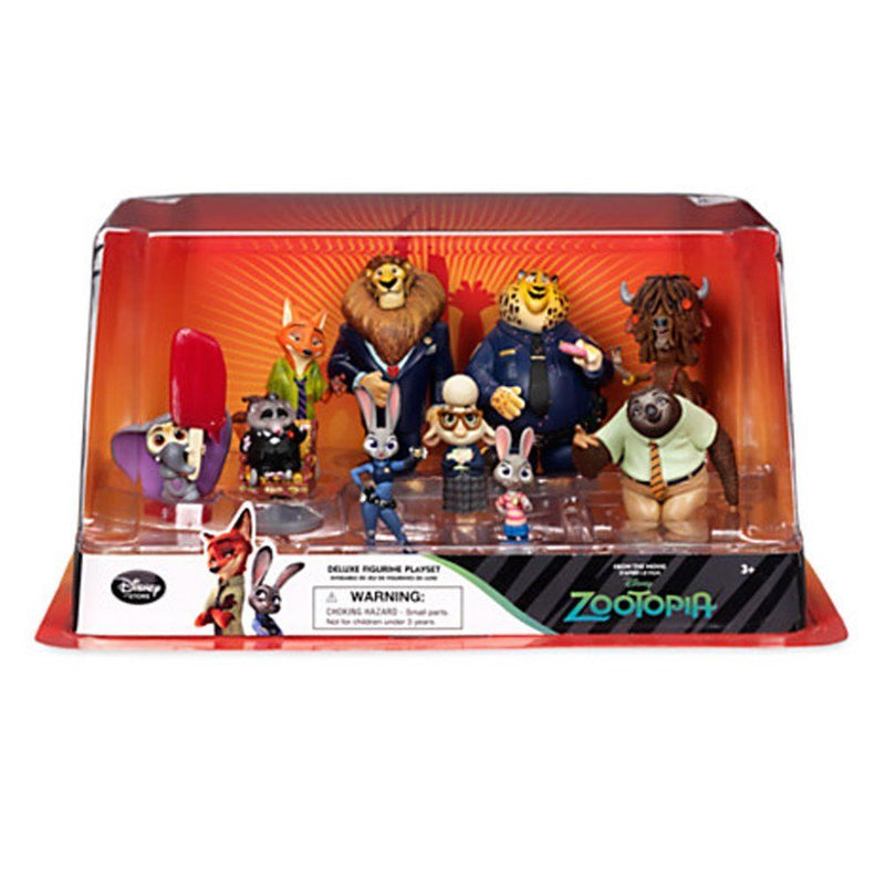 Official Disney Zootropolis Deluxe 10 Figurine Playset