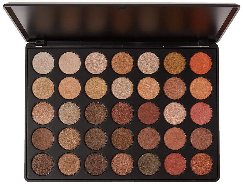 Morphe Brushes - 35OS - 35 Color Shimmer Nature Glow Eyeshadow Palette