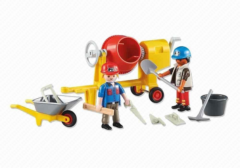Playmobil 2 Construction Workers