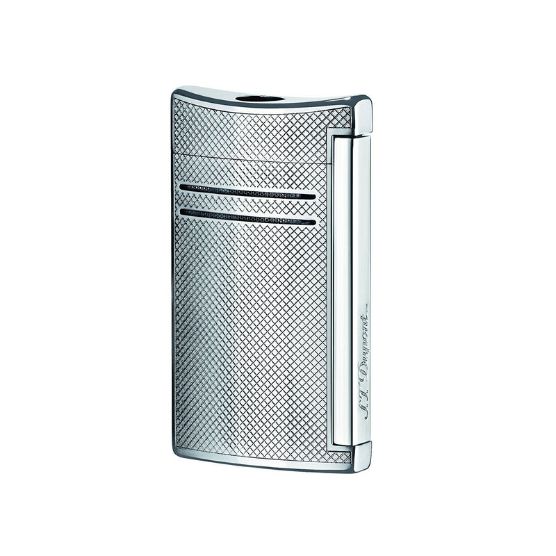 S.T. Dupont Maxijet Lighter - Chrome Grid