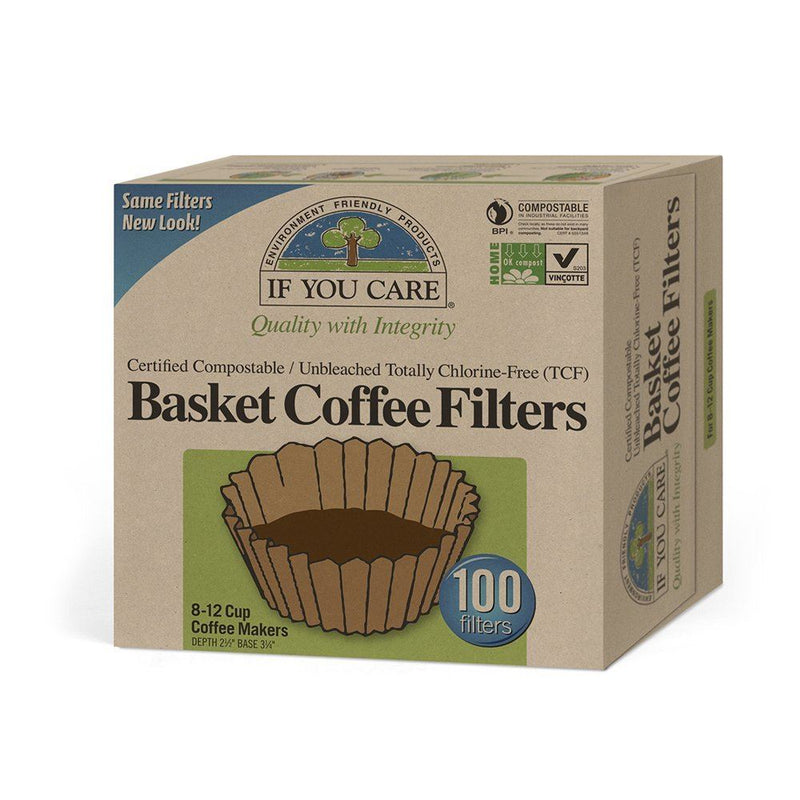 If You Care - Coffee Filters - 100 Basket Filters