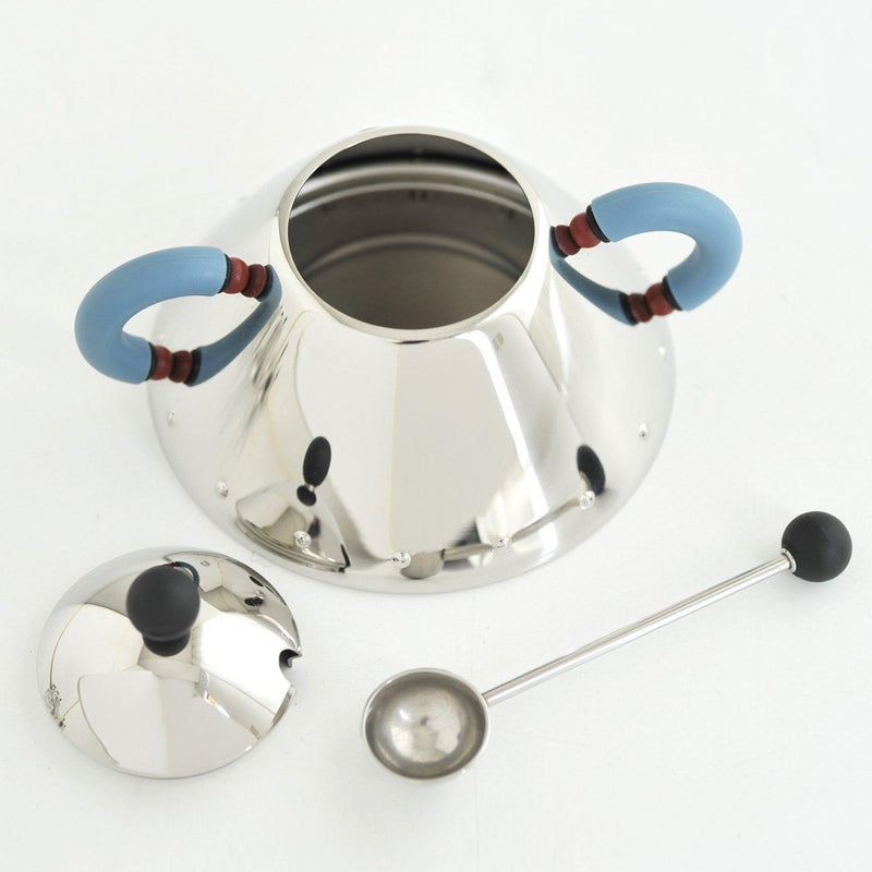 Alessi Michael Graves Sugar Bowl And Spoon