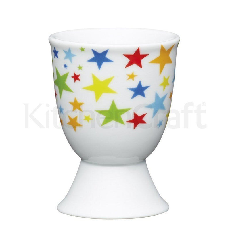 Kitchen Craft - Porcelain Egg Cup - Bright Stars