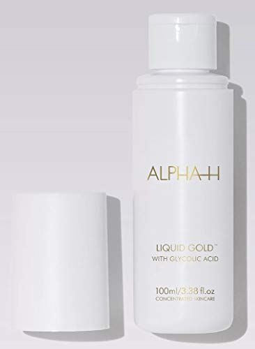 Alpha-H Liquid Gold - Resurfaces Skin Tone, Age Spots, Acne Scars with Glycolic Acid (100 milliliters)