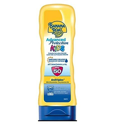 2 x Banana Boat Kids Advanced Protection Sun Tan Lotion SPF 50 180ml