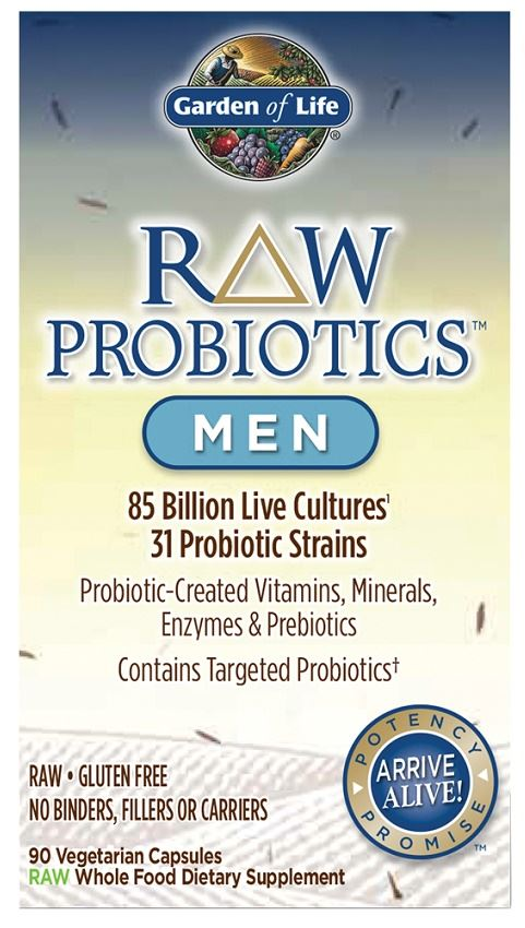 Garden of Life Raw Probiotics Men - 90 Vegetarian Caps